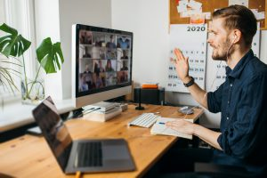 employee retention strategy: regular communication while working remotely