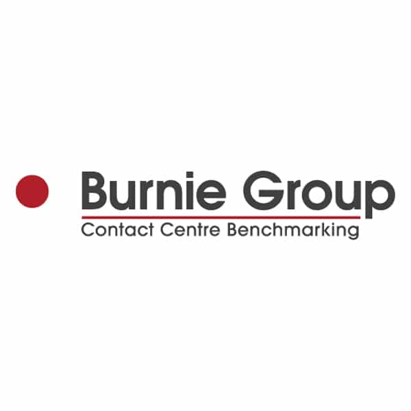 Burnie Group Contact Centre Benchmarking logo square
