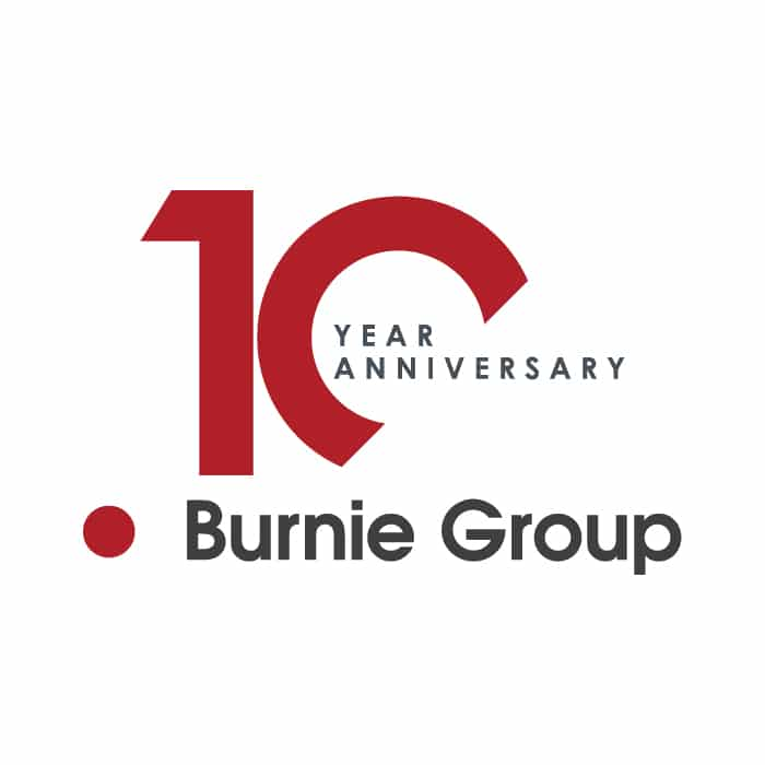 PRESS RELEASE: Burnie Group Celebrates 10 Years of Successfully Serving Clients